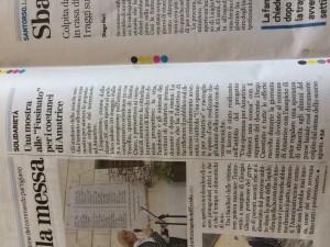 L'articolo pubblicato sul Giornale di Vicenza